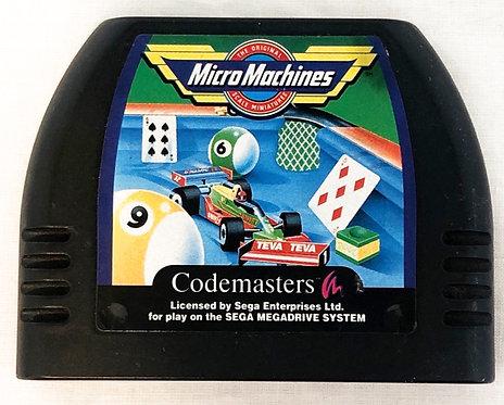 Micro Machines Sega Megadrive 1992