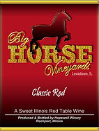 Big Horse Vineyards Wine Label_Classic_N