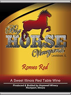 Big Horse Vineyards Wine Label_Romeo_NEW