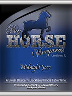 Big Horse Vineyards Wine Label_MidnightJ