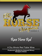 Big Horse Vineyards Wine Label_Race Hors