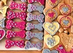 """Blandras"", 10 hund godisar - 10 dog cookies"