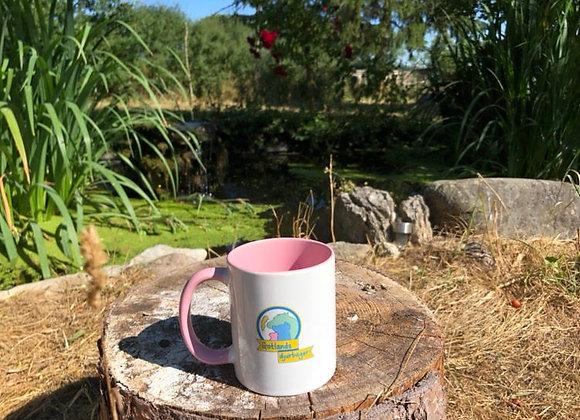 Gotlands djurbageri rosa mugg