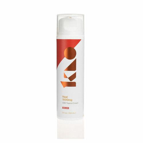 Isolate Heat CBD Cream - 1000mg