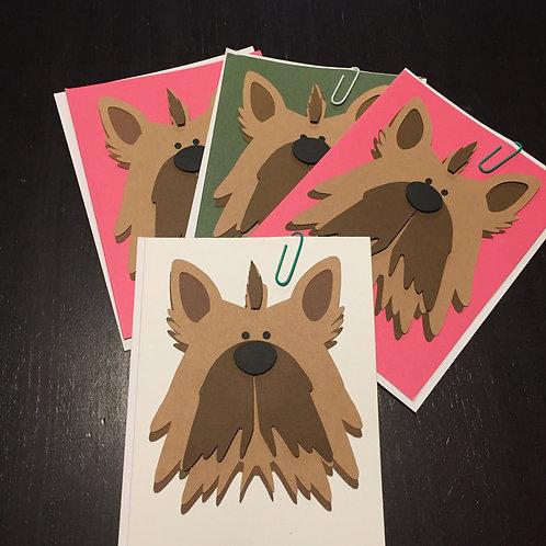 Homemade Dog Cards