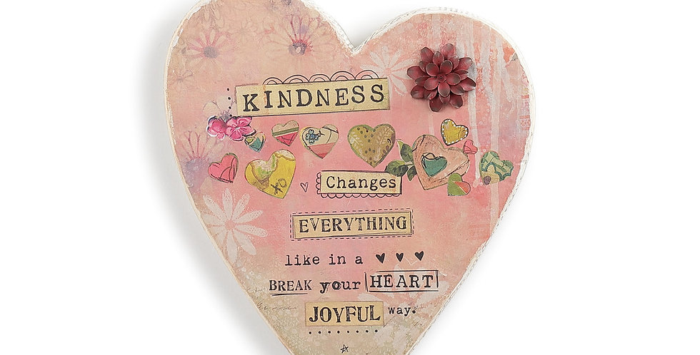Kindness Changes Everything Heart