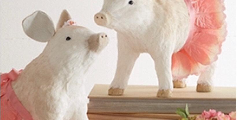 Pig in Tutu Standing