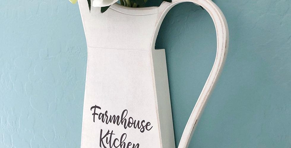 Farmhouse Kitchen Pitcher