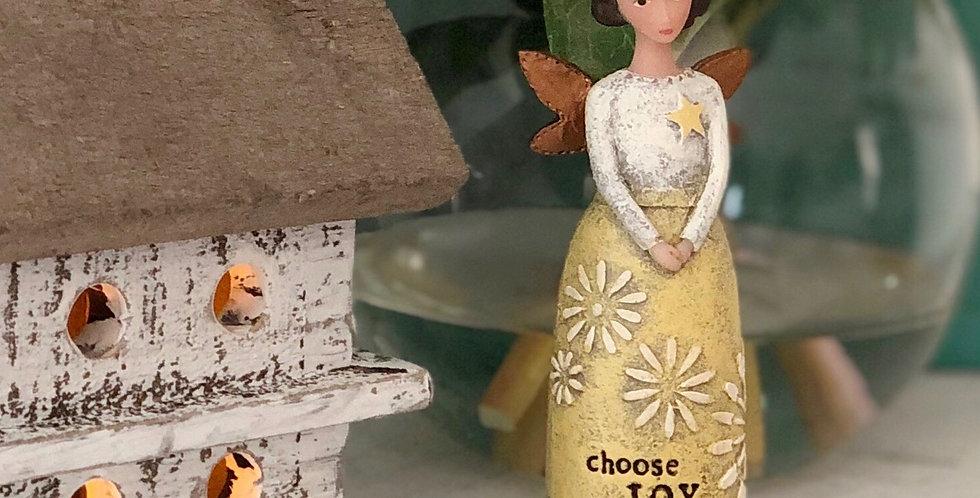 Choose Joy Angel Figurine