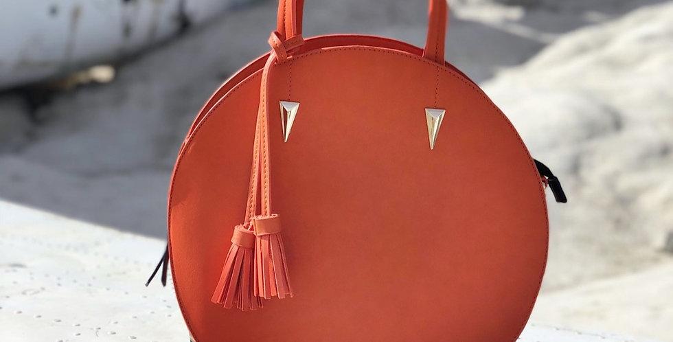 Madeline Round Bag - Orange