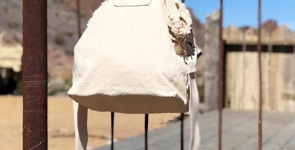 Jane Hobo Bag - Cream