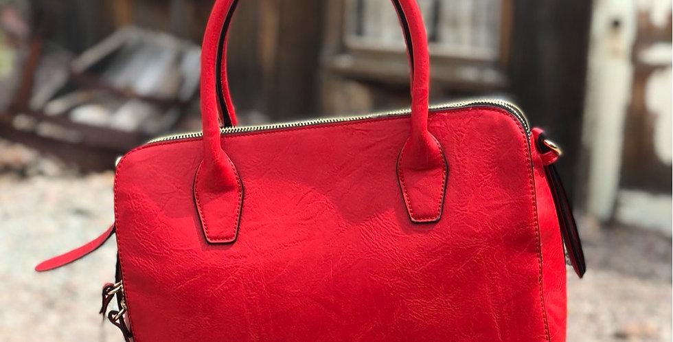 Kelley Handbag - Red