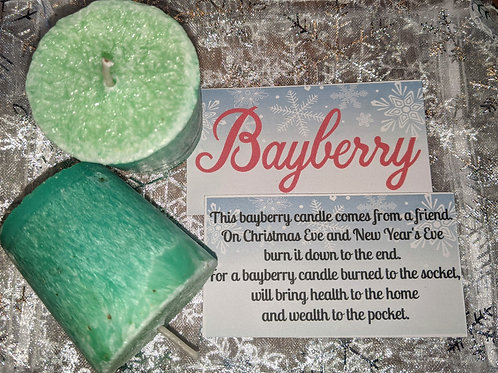 Bayberry Votives (set of two)