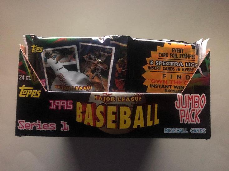 1995 Topps Baseball Series 1 Jumbo Pack