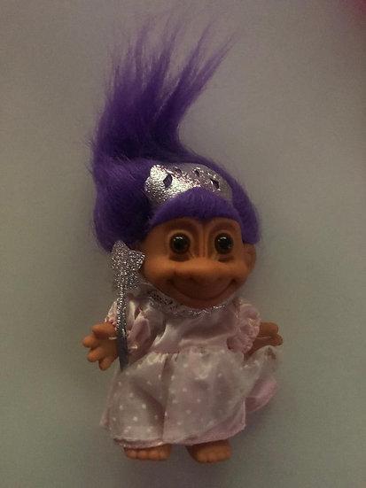 Pincess Troll - Purple Hair