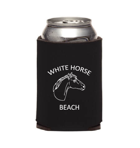 White Horse Beach Koozie