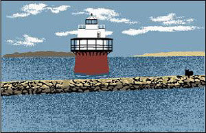 Cat's Meow - Plymouth Jetty Bug Light