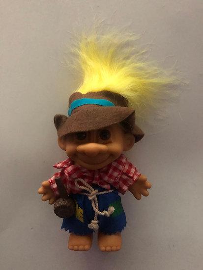 Hill Billy Troll - Yellow Hair