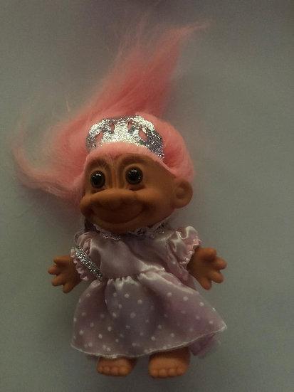 Pincess Troll - Peach Hair