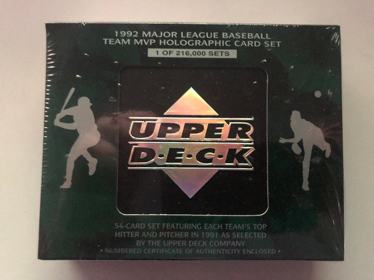 1992 Upper Deck MLB Team MVP Holographic Set