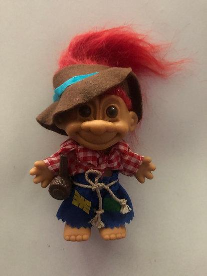 Hill Billy Troll - Red Hair