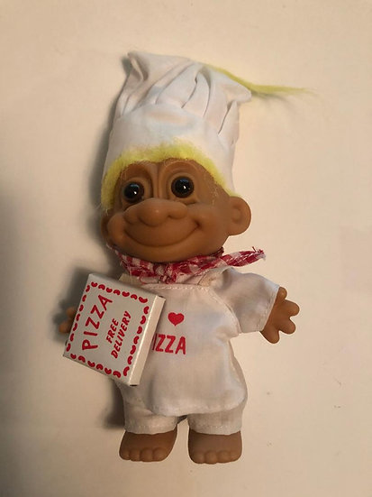 Pizza Lover Genie Troll