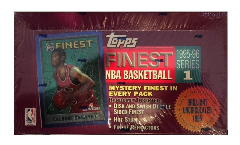 1995-96 Topps Finest NBA Basketball            Series 1