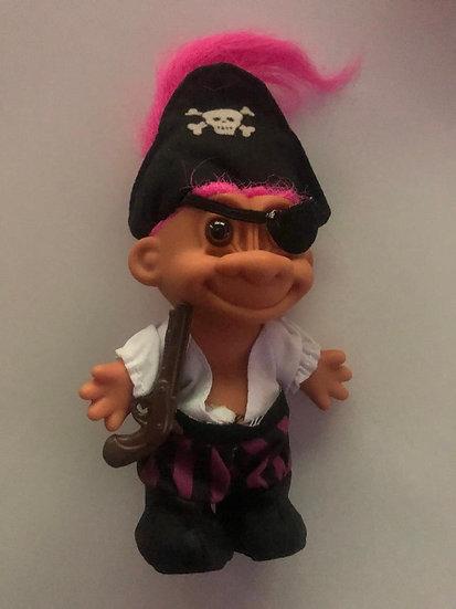 Pirate Troll - Pink Hair