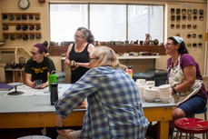 Ceramic Class is in Session