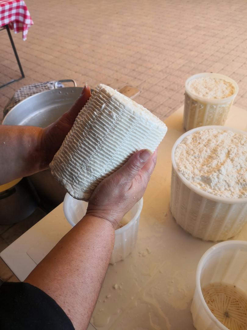 Come si lavora il formaggio
