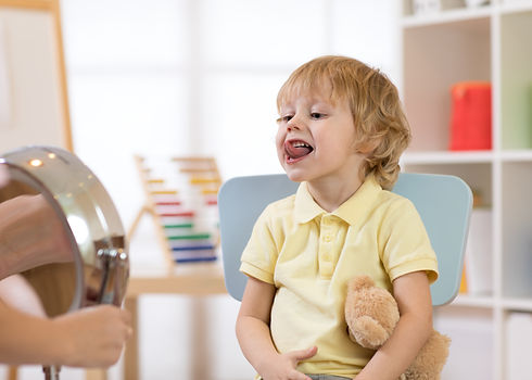 speech therapy exercises with tongue for