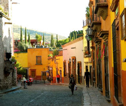 Streets of San Miguel Mexico