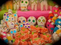 Altar candy for Day of the Dead