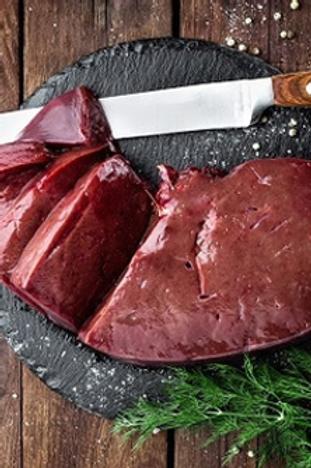 1 lb. sliced beef liver