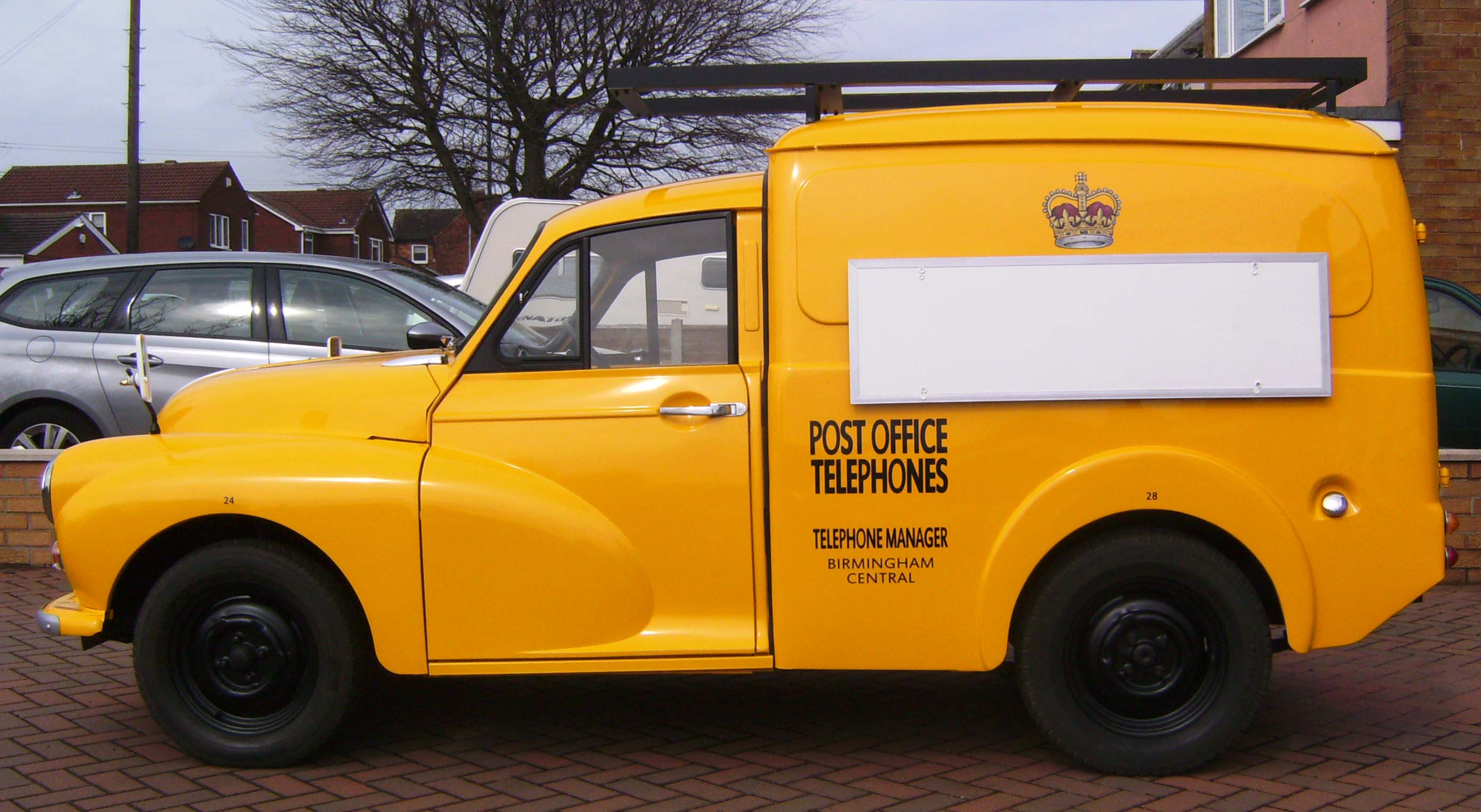 Post office van