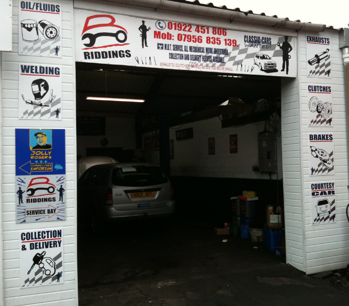 Riddings garage