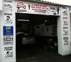 Riddings garage