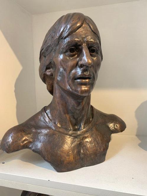 Bust of Johan Cruijff by Guido Sprenkels