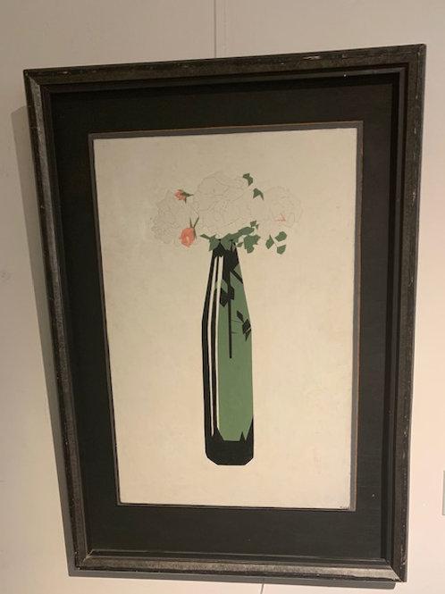 Roses in a bottle - Hendrik Valk