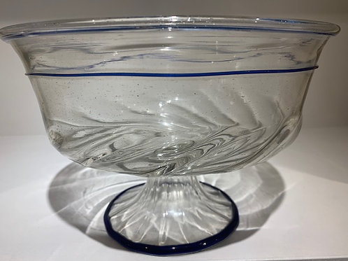 A large Venetian footed bowl