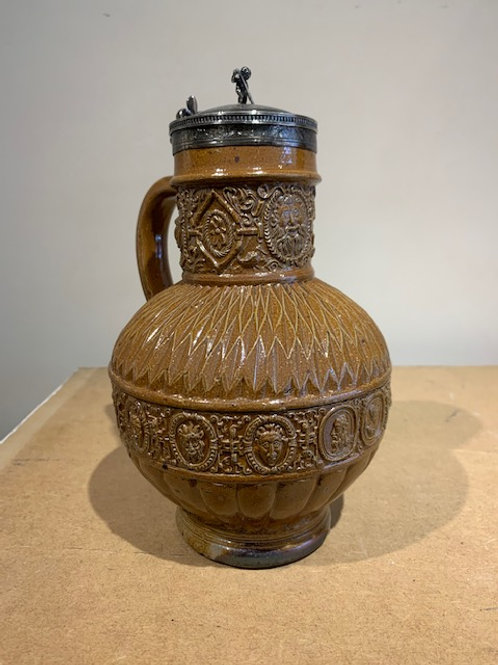Jug with silver mount