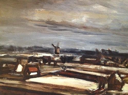 """Constant Permeke (1886-1952), """"Winter in Flanders"""""""