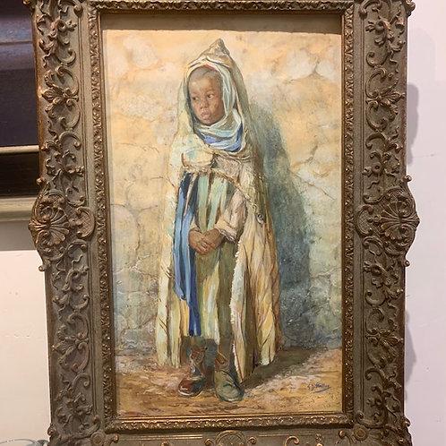 'North African little boy' - Gerard Staller