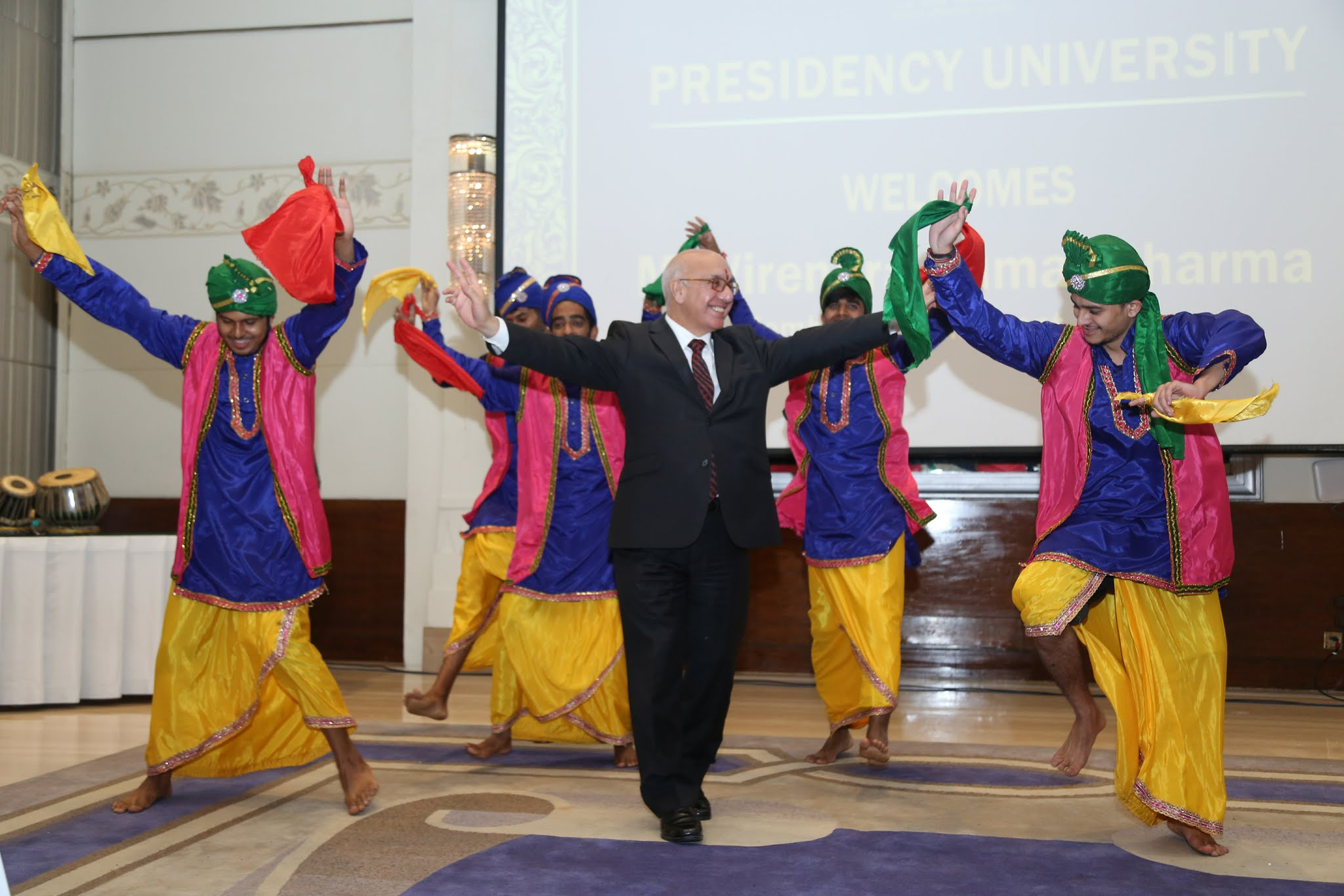 British MP Virendra Sharma dancing