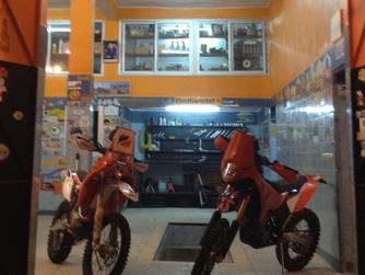 Location moto pour Rally
