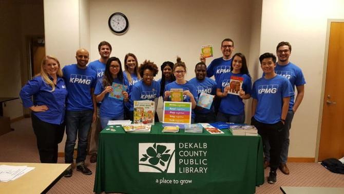 KPMG Donates Books!