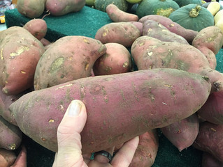 Carb of the Month - Sweet Potato