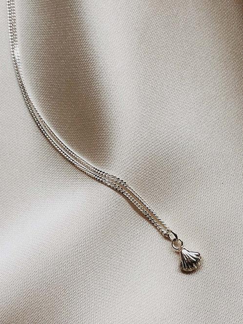 """""""Mini silver Shell"""" Necklace"""