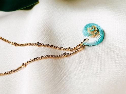 """Little Nautilus"" Pearl-Necklace"