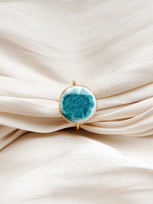 """Blue Lagoon"" Ring"